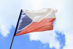 捷克标志 免版税库存图片