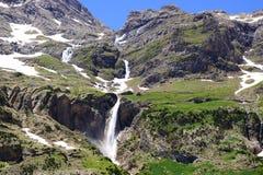 捷克横向国家天然公园美丽如画的瑞士 免版税库存照片