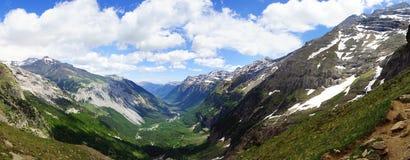捷克横向国家天然公园美丽如画的瑞士 库存照片