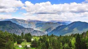 捷克横向国家天然公园美丽如画的瑞士 库存图片