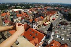 捷克欧洲hradec kralove共和国 免版税图库摄影