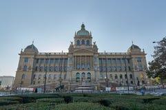 捷克的国家博物馆 库存照片
