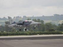 捷克空军航空L-159美国皮革化学家协会figher 库存图片