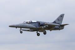 捷克空军队训练喷气机 免版税图库摄影