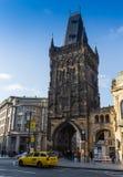 捷克,布拉格- 2017年10月02日:一个美妙的欧洲城市的出现 布拉格老镇中心和 库存照片