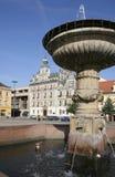 捷克kolin共和国正方形 免版税库存图片
