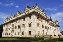 捷克litomysl共和国城镇 库存照片