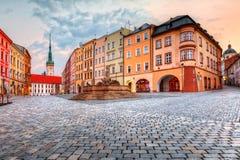 捷克olomouc共和国 免版税库存照片