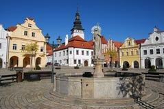 捷克pelhrimov共和国 免版税库存照片