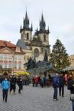 捷克Republic_Prague 免版税库存图片