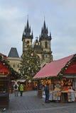 捷克Republic_Prague 免版税图库摄影
