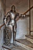 捷克RepublicPrague城堡 dark knight 2016年6月13日 库存图片