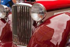 1946年捷豹汽车标记4 库存照片