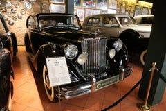 1950年捷豹汽车标记v交谊厅 免版税库存图片