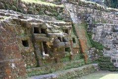 捷豹汽车的寺庙在Lamanai的 免版税库存照片