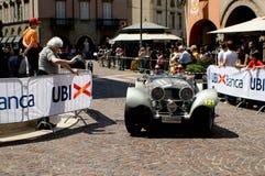 捷豹汽车100在Mille Miglia的SS 2016年 免版税库存照片