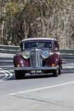 1947年捷豹汽车3月04轿车 免版税库存图片