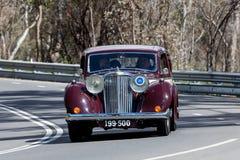 1947年捷豹汽车3月04轿车 库存照片