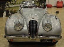 捷豹汽车从1952老汽车的XK120 OTS 免版税库存图片