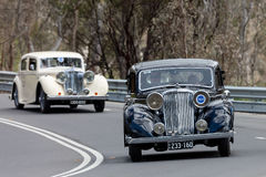 1946年捷豹汽车Mk IV轿车 免版税库存图片