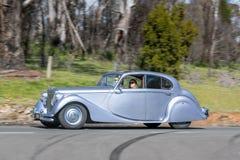 1951年捷豹汽车Mk v小轿车 免版税库存照片