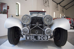 捷豹汽车SS 100燕子Sidecars, 1938年 库存照片