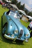 捷豹汽车XK140 1955敞篷车 库存照片