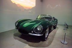 1956年捷豹汽车XKSS 免版税库存图片