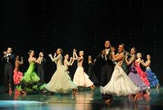 掌声大气这奥地利的世界舞蹈 图库摄影