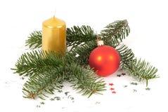 排列圣诞节 免版税库存照片