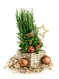排列圣诞节 免版税库存图片