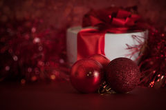 排列圣诞节 图库摄影