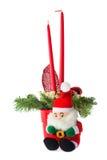 排列圣诞节 库存照片
