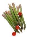 排列新鲜蔬菜 免版税库存照片