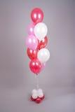 排列气球 库存图片