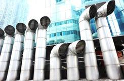 排气扇 免版税库存照片