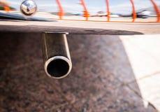排气管。 免版税图库摄影