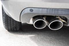 排气管 库存照片