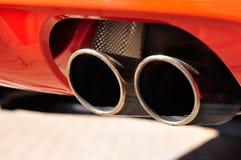 排气管 免版税库存照片