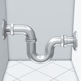 排水管水 库存图片