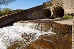 排水管 免版税库存照片