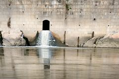排水系统 库存图片