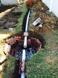 排水系统 图库摄影