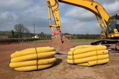 排水设备管道系统 免版税库存图片