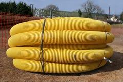 排水设备管道 免版税图库摄影