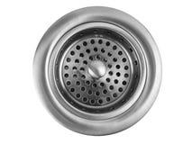 排泄厨房水槽 库存图片