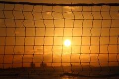 排球网 免版税库存照片