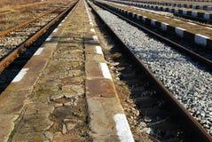 排行平台火车站 库存照片