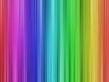 排行彩虹 免版税库存照片