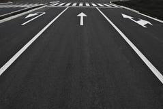 排行街道 免版税库存图片